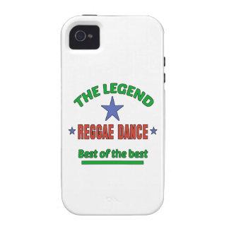 La leyenda de la danza del reggae iPhone 4/4S carcasas