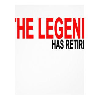 La leyenda ha retirado T-Shirts.png Membrete A Diseño
