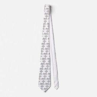 La leyenda lo tiene que creceré para ser una corbatas personalizadas