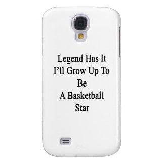 La leyenda lo tiene que creceré para ser una funda para galaxy s4
