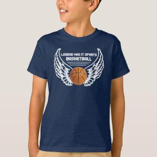 La leyenda lo tiene se divierte - baloncesto playera