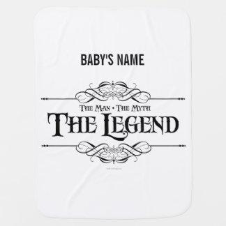 La leyenda manta de bebé