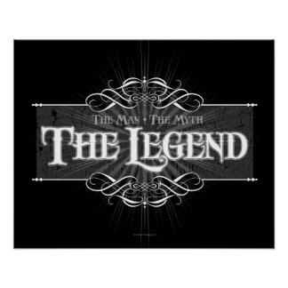 La leyenda poster