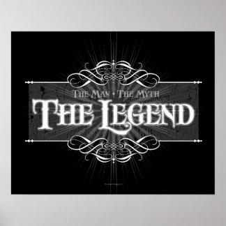 La leyenda póster