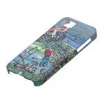 La libélula Jewels el caso del iPhone 2 iPhone 5 Case-Mate Cárcasa