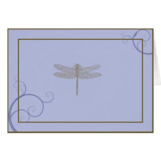 La libélula le agradece cardar tarjetón