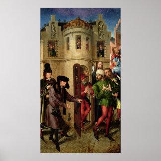 La liberación de los presos, c.1470 póster