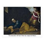 La liberación de San Pedro de Jusepe De Ribera Postal