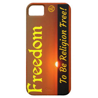 La libertad a ser religión libera funda para iPhone SE/5/5s