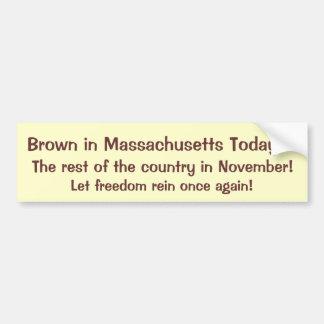 ¡La libertad contiene otra vez! Etiqueta De Parachoque