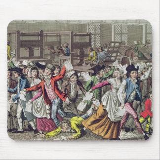 La libertad de prensa, 1797 tapetes de ratones