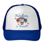 La libertad es dulce gorros