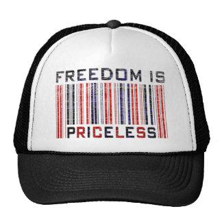 La libertad es Grunge inestimable Gorro