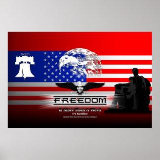 La libertad es más que un poster archival de los póster