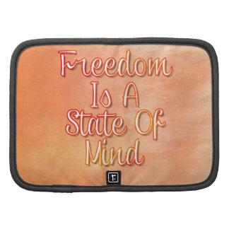 La libertad es un estado de ánimo planificadores