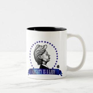 La libertad es una señora Mug Tazas De Café