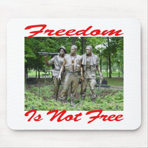 La libertad no es #005 libre tapetes de raton