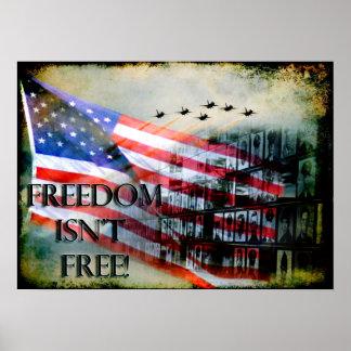 La libertad no es poster libre