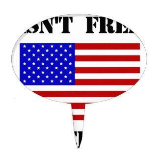 La libertad no está libre figura para tarta