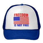 La libertad no está libre gorras de camionero