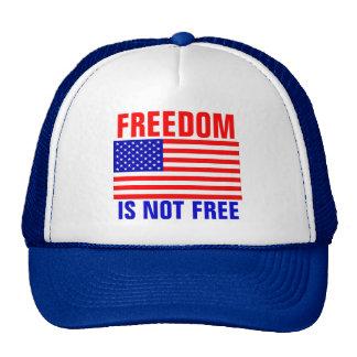 La libertad no está libre gorro