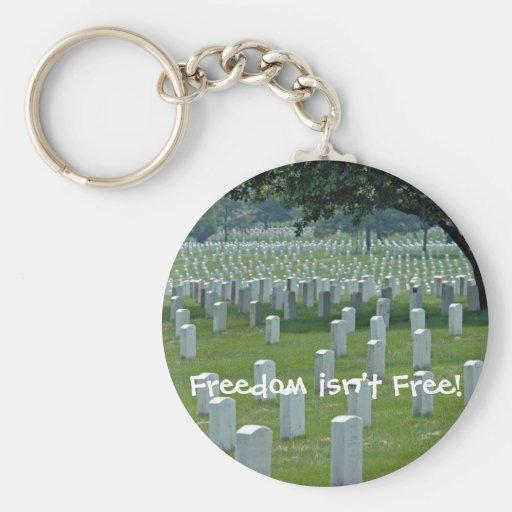 ¡La libertad no está libre! Llavero