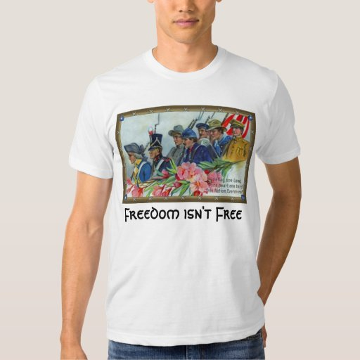 la libertad no está libre poleras
