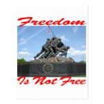 La libertad no está libre postal