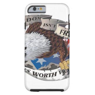 La libertad no está libre sino que vale el luchar funda de iPhone 6 tough