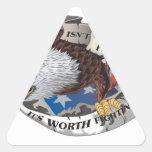 La libertad no está libre sino que vale el luchar pegatinas trianguladas personalizadas