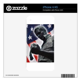 ¡La libertad no está libre! Skins Para eliPhone 4