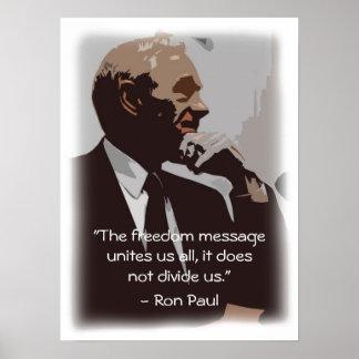 La libertad nos une póster