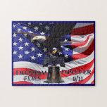 La libertad vuela para siempre 9/11 rompecabezas