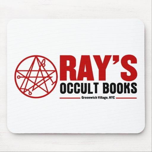 La librería oculta del rayo mouse pads