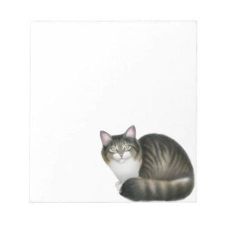 La libreta amistosa del gato de Tabby Blocs De Notas