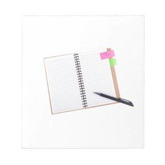 """La libreta con """"toma un recordatorio de la nota"""" libretas para notas"""