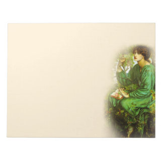 La libreta del Pre-Raphaelite 11X8.5 del sueño del Bloc De Notas