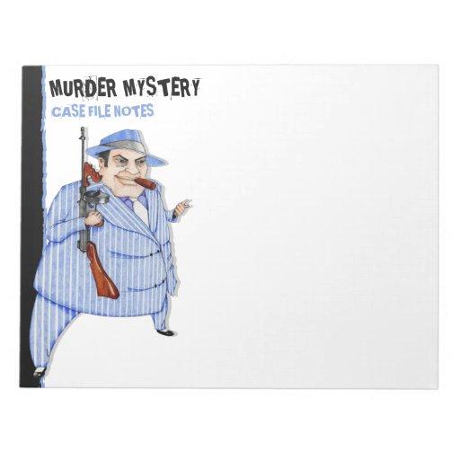 La libreta grande del misterioso asesinato del jef blocs de notas