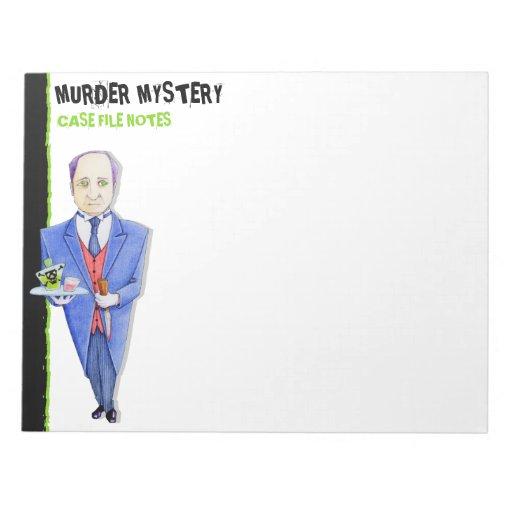 La libreta grande del misterioso asesinato del may libreta para notas