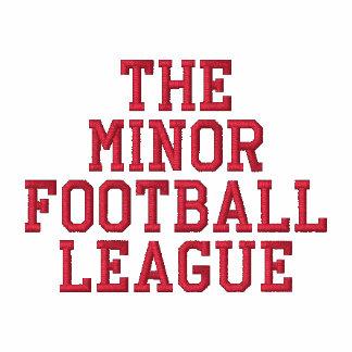 La liga de fútbol de menor importancia chamarra de deporte bordada