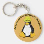 La liga de pingüinos extraordinarios llaveros