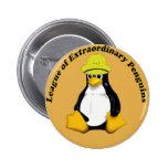 La liga de pingüinos extraordinarios pins