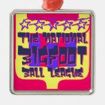 La liga nacional de la bola de Bigfoot Adorno De Reyes