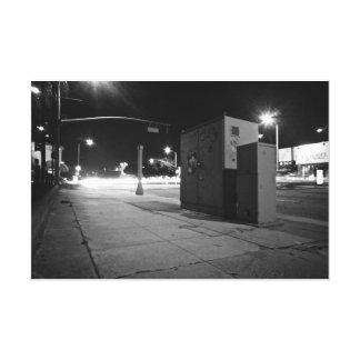 LA Light Streams Stretched Canvas Prints