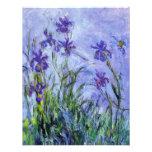 La lila de Monet irisa invitaciones Comunicado Personalizado