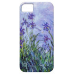 La lila de Monet irisa la caja del iPhone 5 iPhone 5 Carcasa