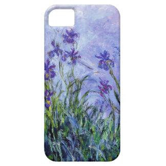 La lila de Monet irisa la caja del iPhone 5 Funda Para iPhone SE/5/5s