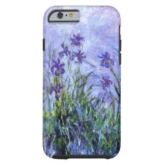 La lila de Monet irisa la caja delgada del iPhone Funda De iPhone 6 Tough