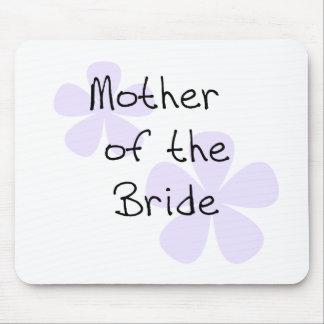 La lila florece a la madre de la novia tapete de raton
