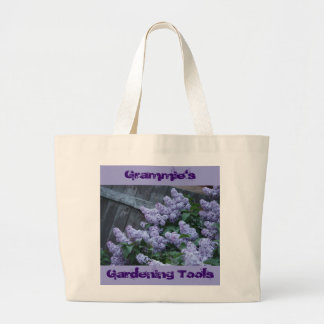 La lila florece el bolso bolsas de mano